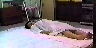 mature Japanese couple and threesome 3P